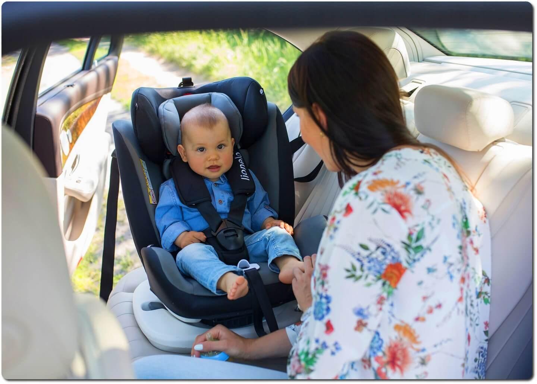 Lionelo Oliver sitzerhöhung auto kinder Kindersitz Autokindersitz 9-36kg ISOFIX