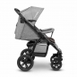 Mobile Preview: Lionelo Annet Tour Kinderwagen grau Seitenansicht