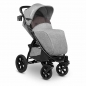 Mobile Preview: Lionelo Annet Tour Kinderwagen grau mit Fusssack