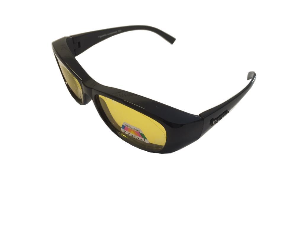 Figuretta Sonnenbrille Überbrille Blau TV Werbung Schutz UV Brille Sonnenschutz