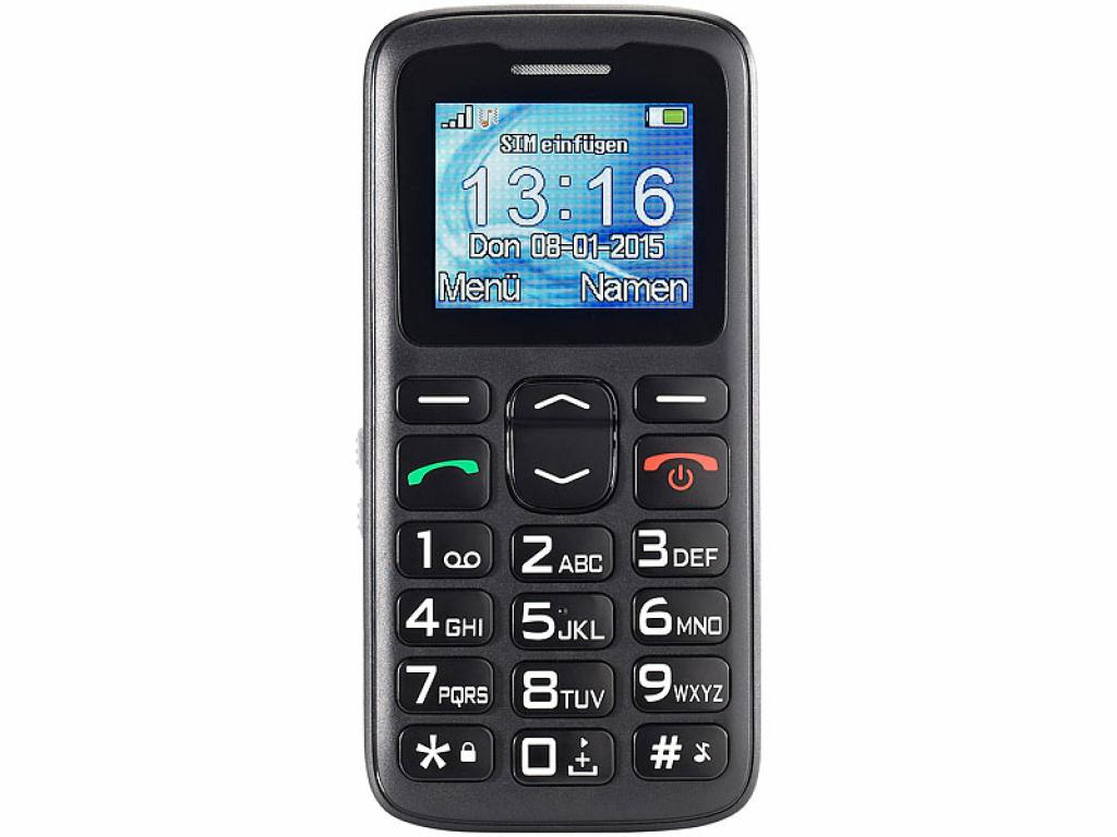 Simvalley Mobile XL-915 V2 Senioren- & Notruf Handy Notfall Notfallhandy Notrufhandy