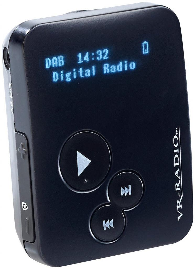 VR-Radio Pocket Mini Radio OLED Display