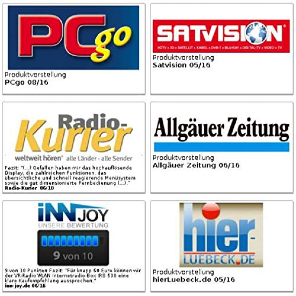 VR Radio WLAN Internetradio Radiowecker