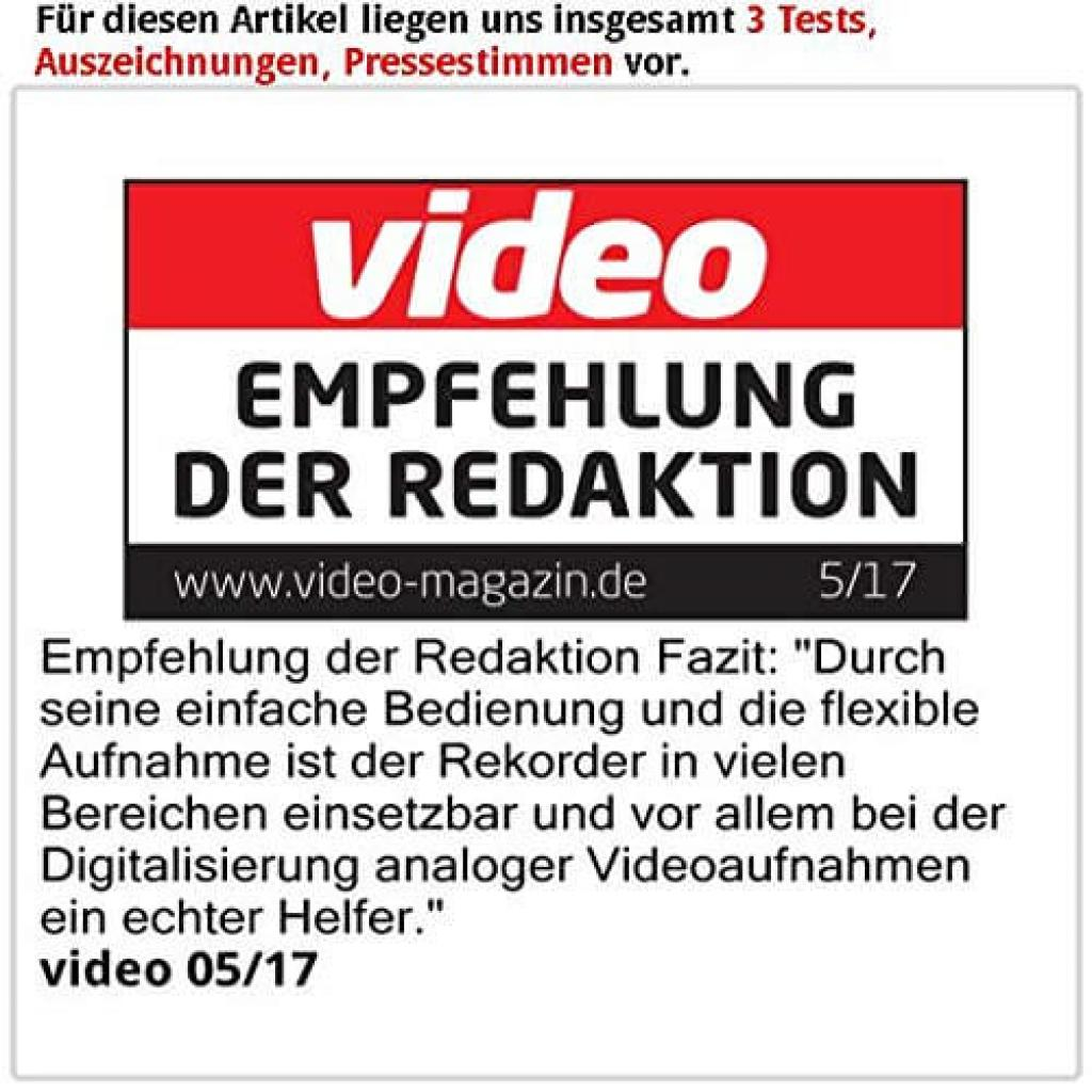 Testbericht des auvisio Video Rekorder Game Capture V3