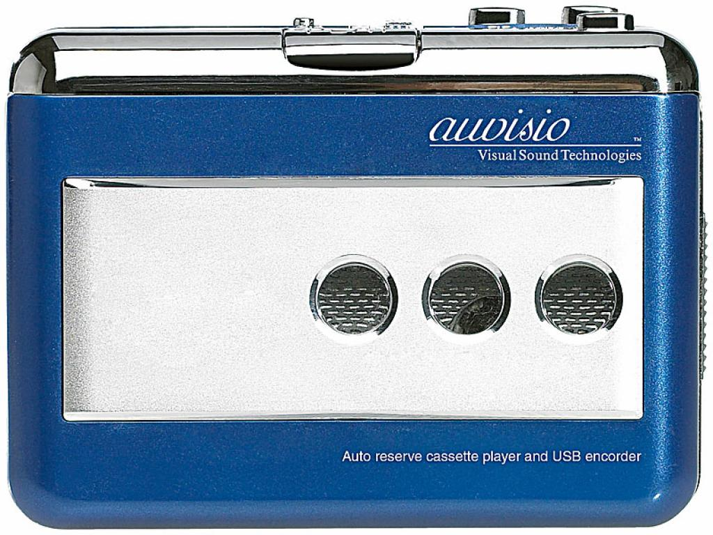 auvisio Tape2PC Kassettendigitalisierer