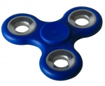 Fidget Finger Spinner blau ABS mit Profi Kugellager Anti Stress Kreisel Therapie