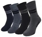 Garcia Pescara 4 Paar Winter Thermo Socken  Gr. 39-42 Wintersocken aus Baumwolle