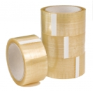 trends4cents Packband transparent 66m lang, 50mm breit Klebeband Paketklebeband