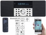 VR-Radio DOR-600 Digitalradio mit DAB+, FM, Bluetooth, CD, USB, 60 W, Lautsprecher, Musikbox, Mp3