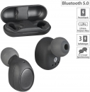 Auvisio IHS-760 True Wireless In-Ear-Headset, Bluetooth 5, Ladebox, 19 Std. Spielzeit, Ohrhörer, Kopfhörer